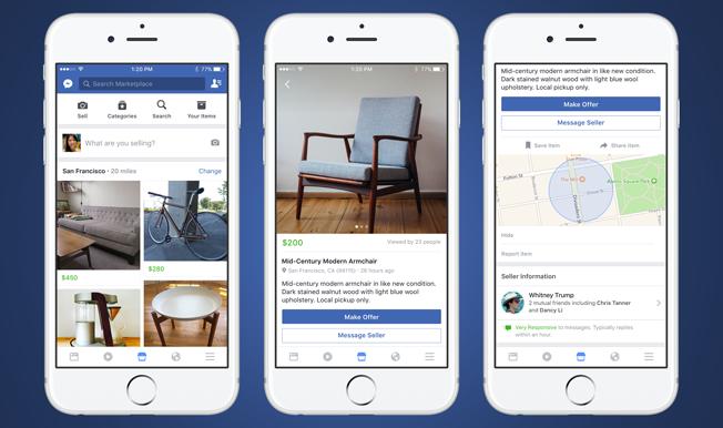 Comprar y vender ahora es más fácil con Facebook Marketplace, un servicio que ya está disponible en España 1